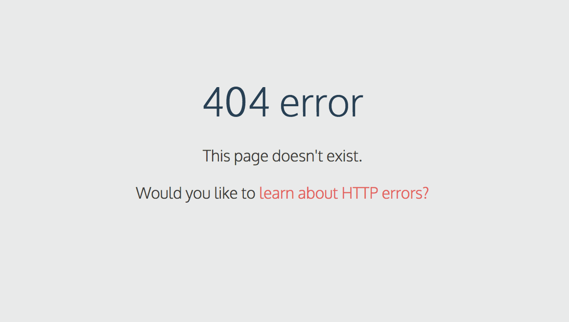 44 incredible 404 error pages