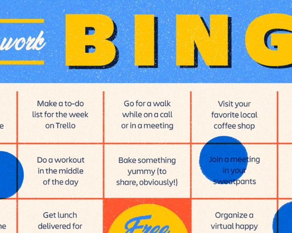 Work from home bingo game