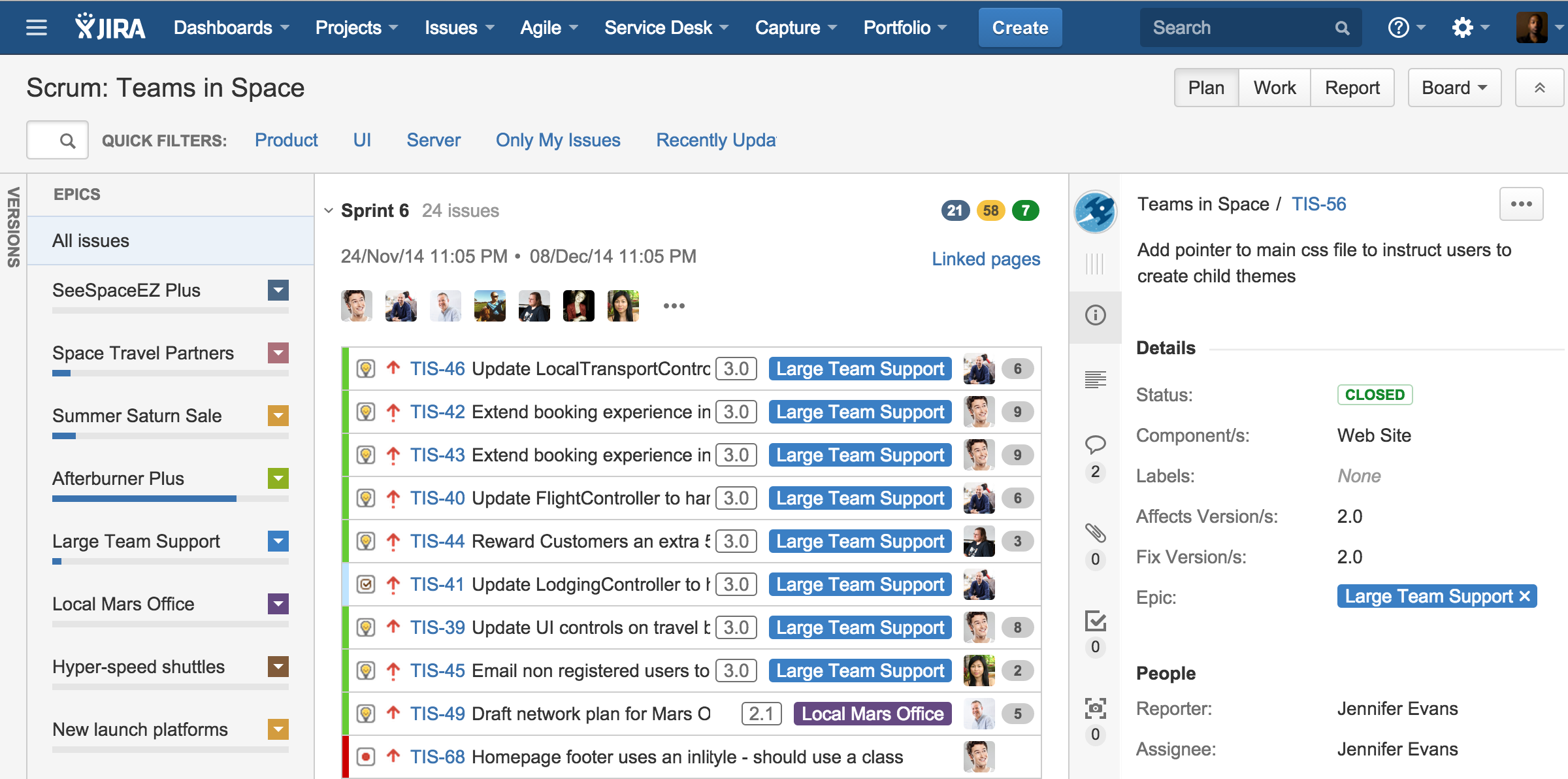jira task template - inside atlassian four steps to better sprint planning