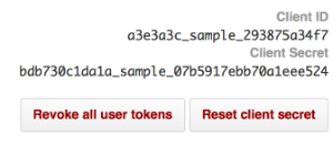 GitHub Client ID and Secret