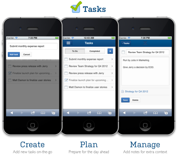 Team Collaboration Software Confluence Mobile Tasks